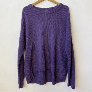 Universal Thread Violet Hi-low Knit Sweater XXL